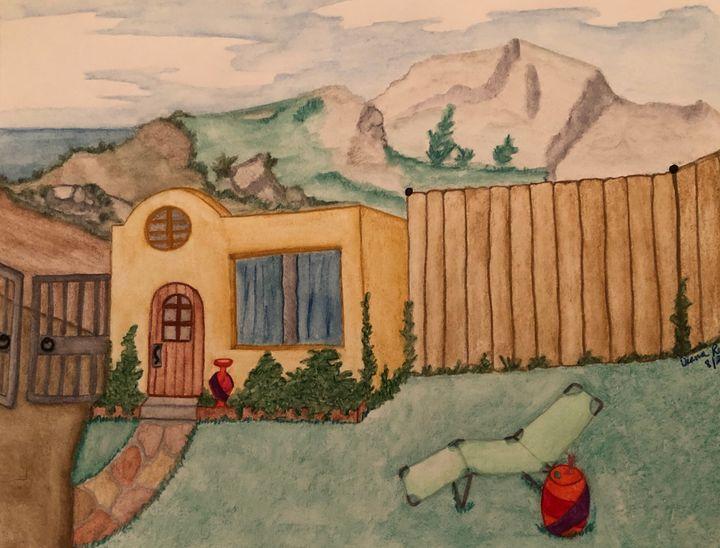 Adobe mountain living - Diana Renkel