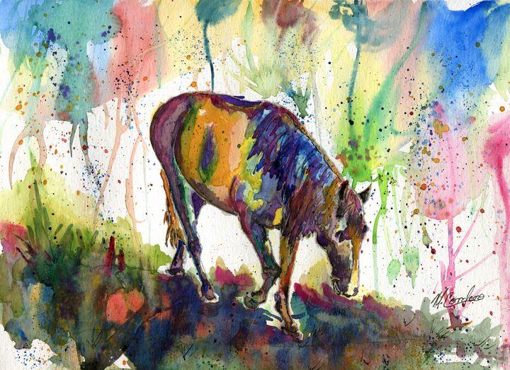 Calm Amidst Chaos - M. Cordero Watercolor Studio