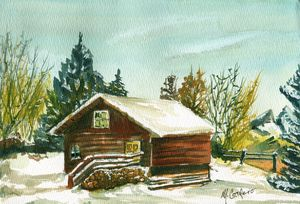 Warm and Cozy Cabin