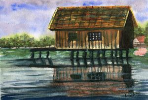 Shack on the River
