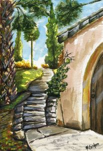 Pinewood Estate Path