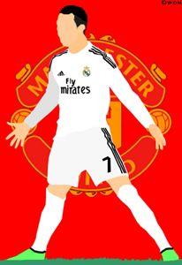 Cristiano Ronaldo Madrid/ManUnited - DWon