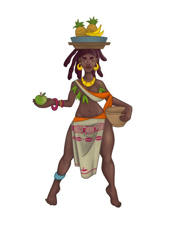 Cool black girl, - ArtRuDi