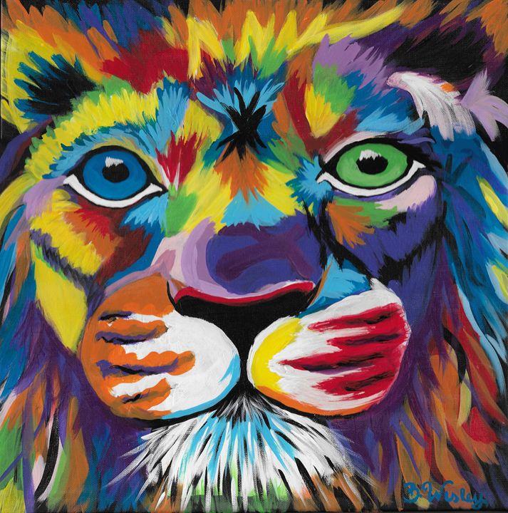 Roaring Color - artaholic indiana