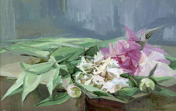 Peonies - D. BRIGHT GALLERY
