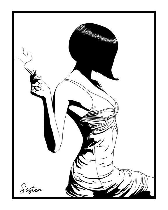 Cabaret girl - cadrOmur