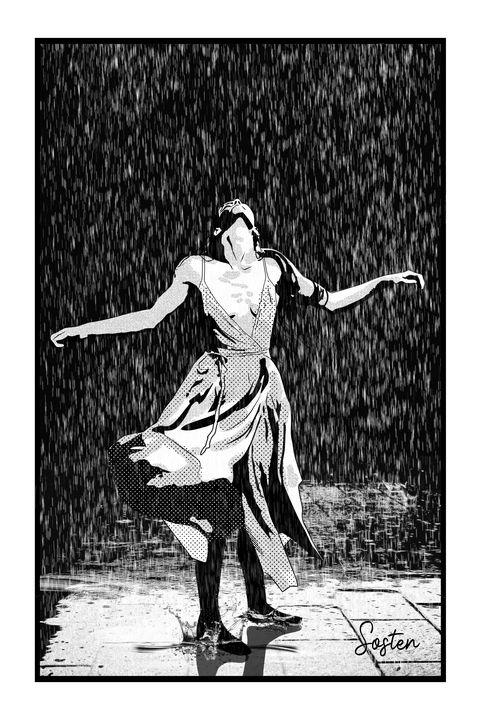 Fun in the rain - cadrOmur