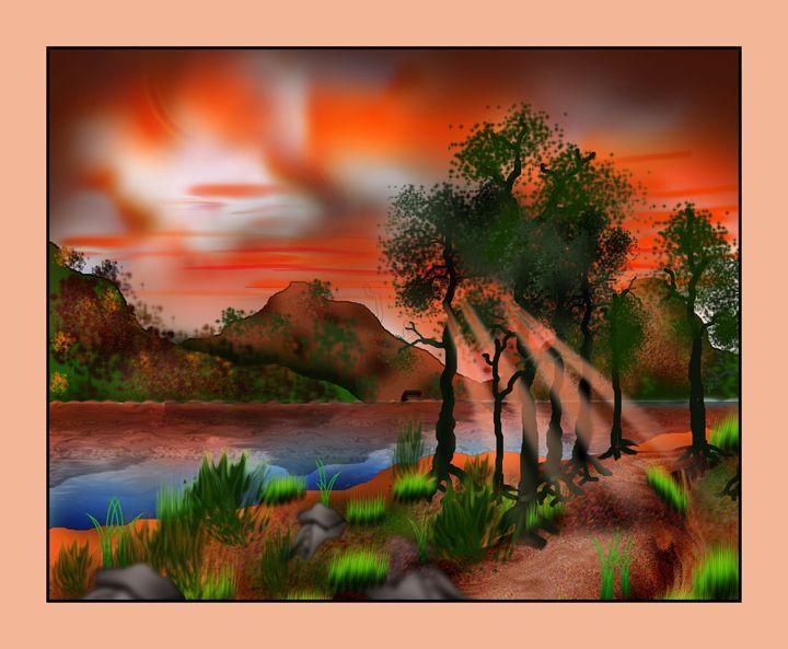Sun set Village beauty - Rinto Francis