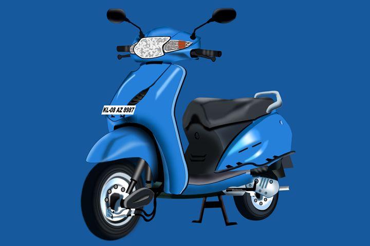 Honda Activa - Rinto Francis