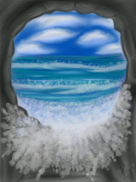 Waves in the Cave - Ancientz Artz