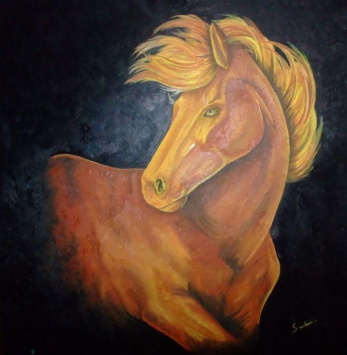 horse - paintings