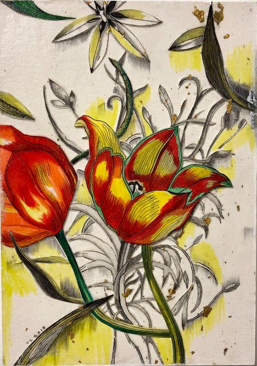 Tulip Dreams - Victoria Corbett Art