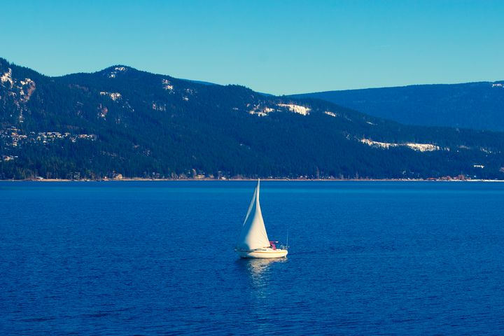 Sailboat on the Shu - Epic North Shuswap
