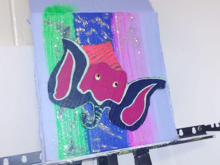 BUMBO DUMBO'S Cusin - Bug Eyed Artworks