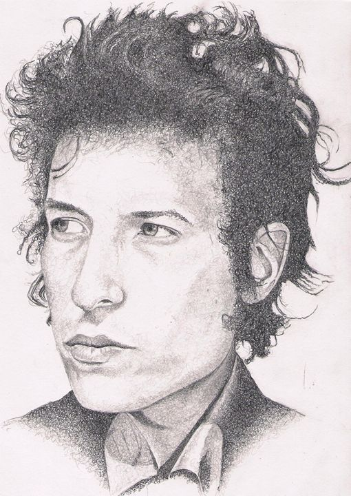 Young Dylan - The art of paul smutylo