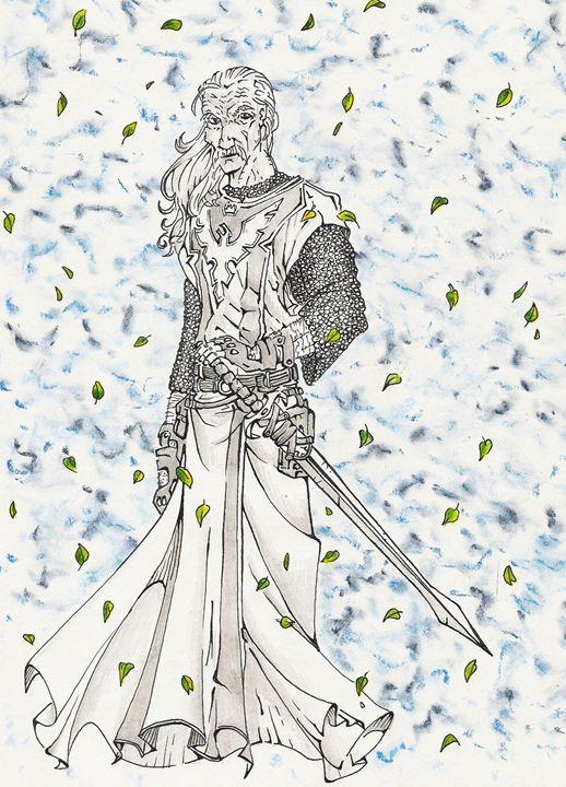 ser barristan the bold - The art of paul smutylo