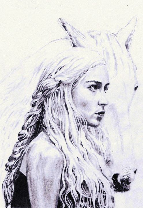 Mother of Dragons - The art of paul smutylo