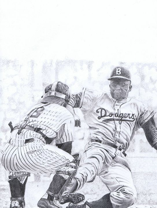 Jackie Steals Home - The art of paul smutylo