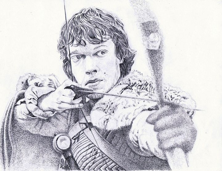 Theon Greyjoy - The art of paul smutylo