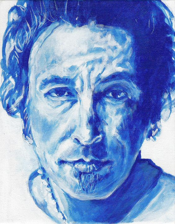 Boss in Blue - The art of paul smutylo