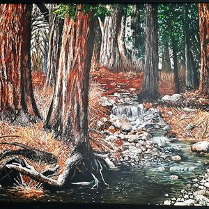 Forest - Baranpainting