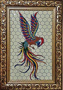 Bird ( simorgh) - Baranpainting