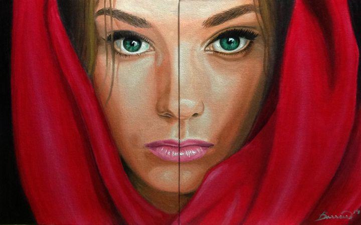 Mujer hipnótica - Barreiro's Art