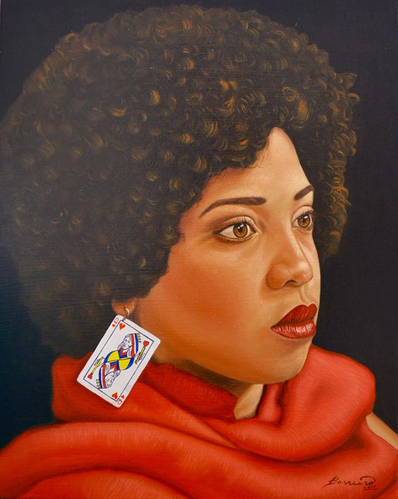 Queen of hearts - Barreiro's Art