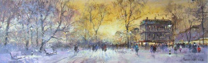 NEW YEAR: EVENING IN PARK - Iren Darque