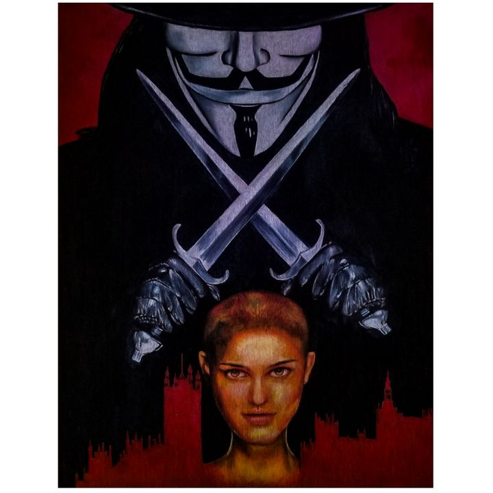 V for Vendetta - Julio de los Santos