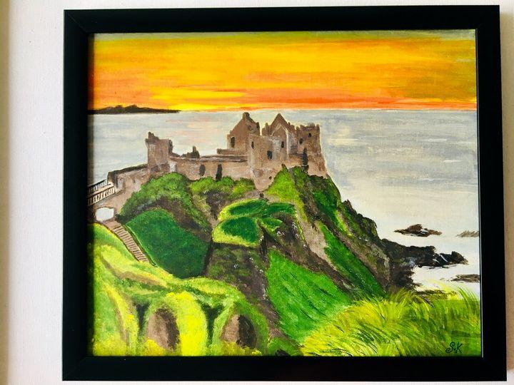Dunluce Castle - Zaras Art