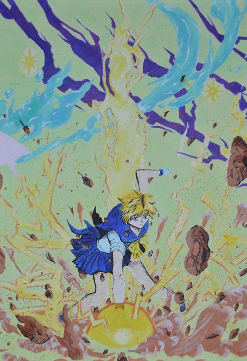 Sailor Uranus - Colored Creations