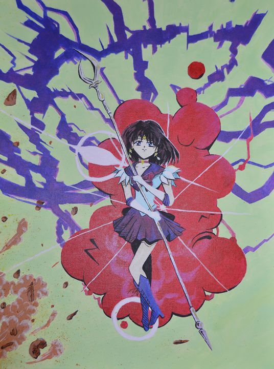 Sailor Saturn - Colored Creations