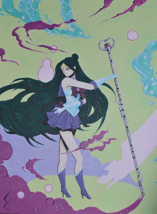 Sailor Pluto - Colored Creations