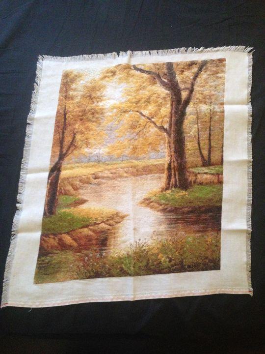 Golden October - Tapestries of Kameliya