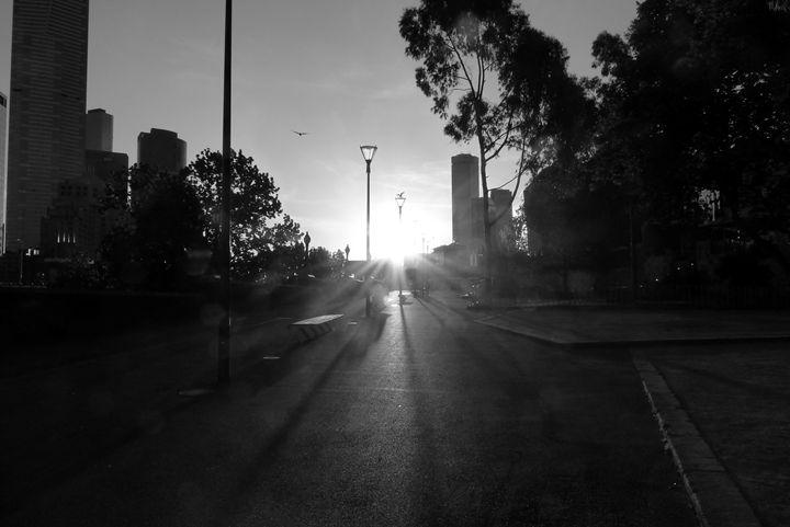 City Sunset - Solomon Freer
