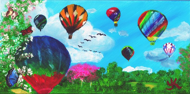 Hot Air Balloons - Yolanda Klem