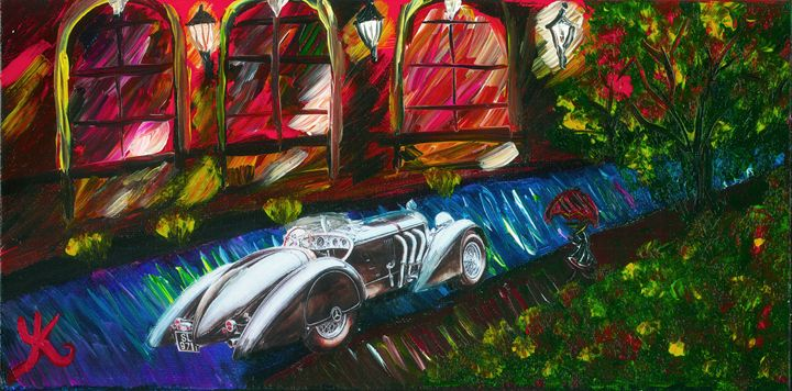 RJ's Mercedes - Yolanda Klem