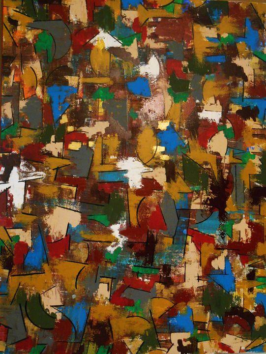 Mosaic - Memphis Original Art