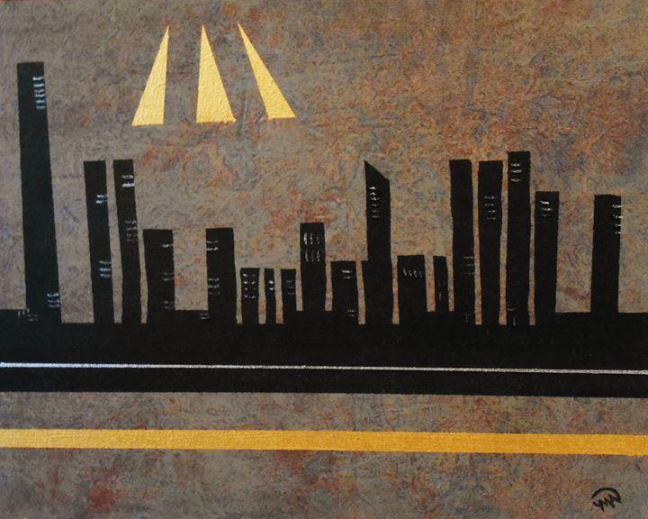 Metropolis - Memphis Original Art