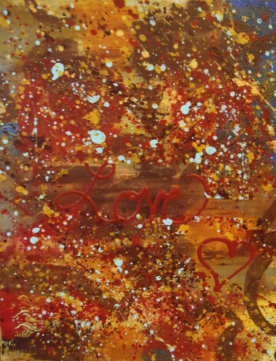 Love - Memphis Original Art