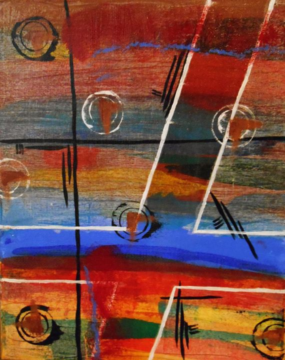 Across the Miles II - Memphis Original Art
