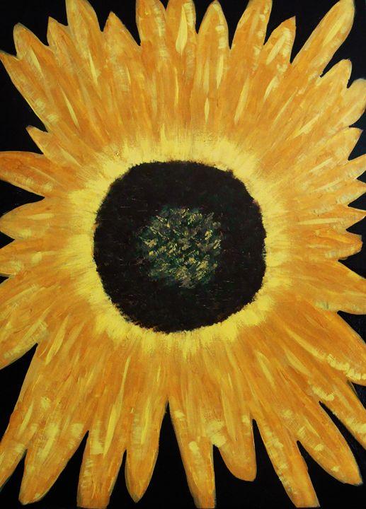 Sunflower I - Memphis Original Art