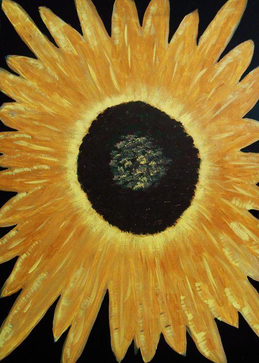 Sunflower II - Memphis Original Art