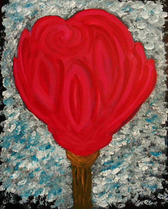Rose I - Memphis Original Art