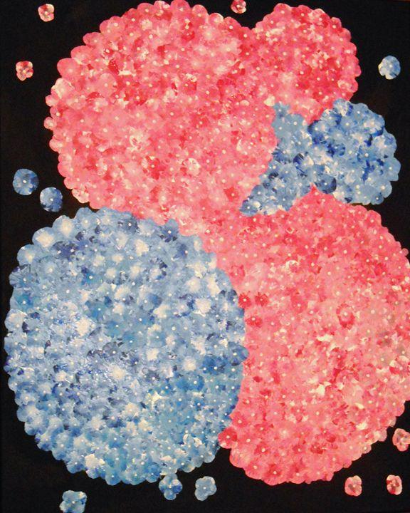 Hydrangeas I - Memphis Original Art