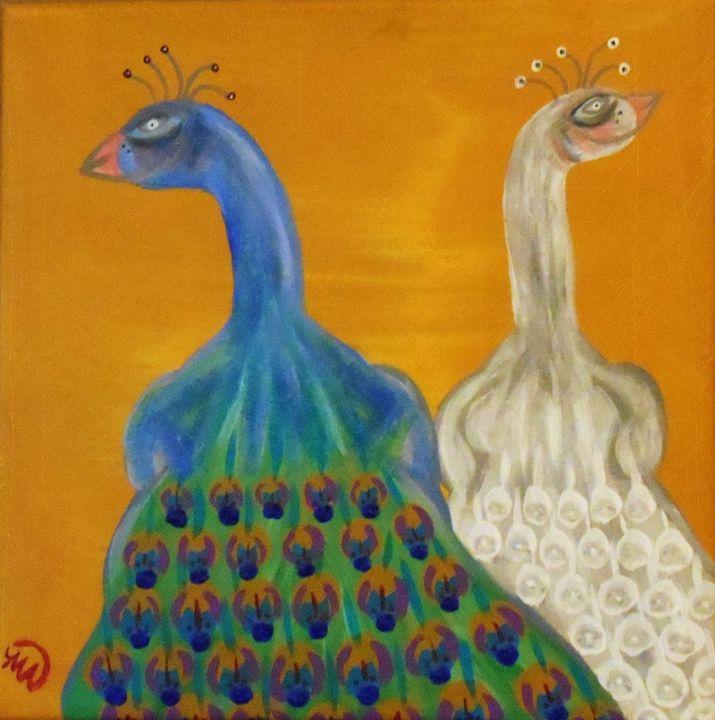 Mr and Mrs - Memphis Original Art