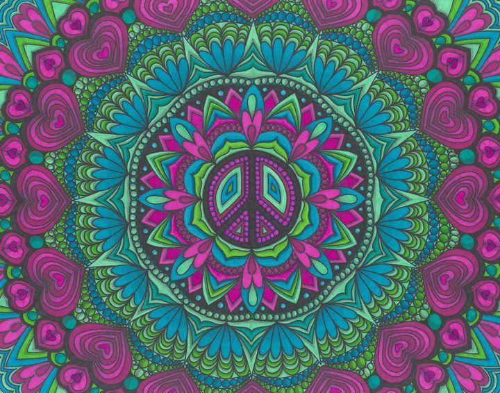 Peace Dots - My Meditation Art