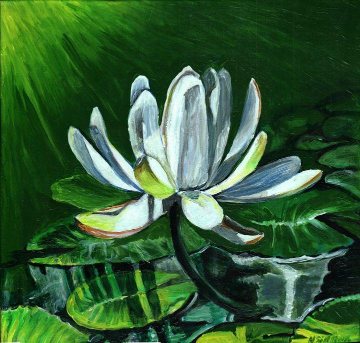 lotus flower - Helen Simmons Art