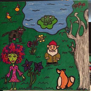 Creatures in the woods